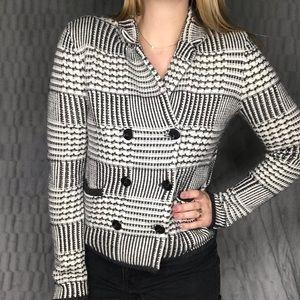 Ann Taylor LOFT Knit Sweater Blazer Jacket